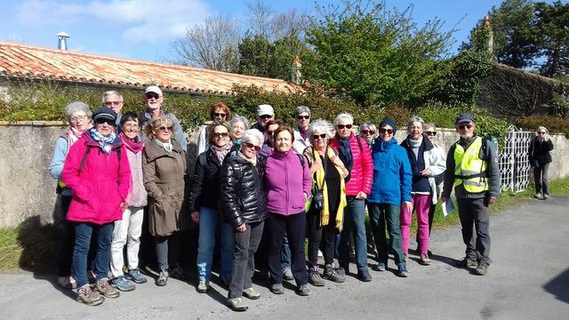 Randonnée : La vie de château à Lagord